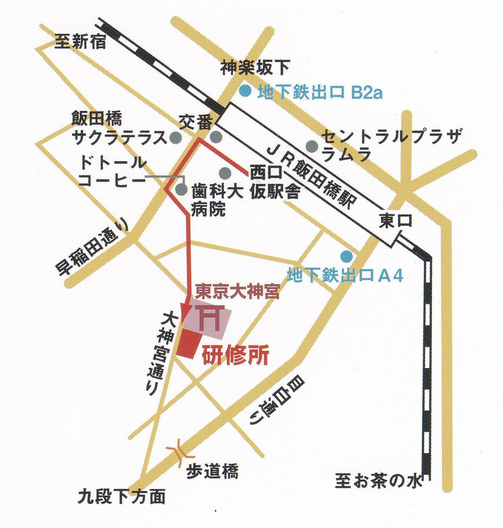大神宮地図